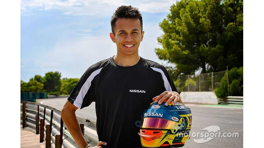 Nissan e.dams Formula E Open To Albon Eventual Return