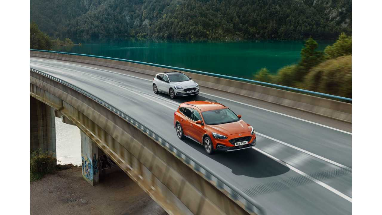 Ford Europe To Electrifying Every Model From All-New Focus On