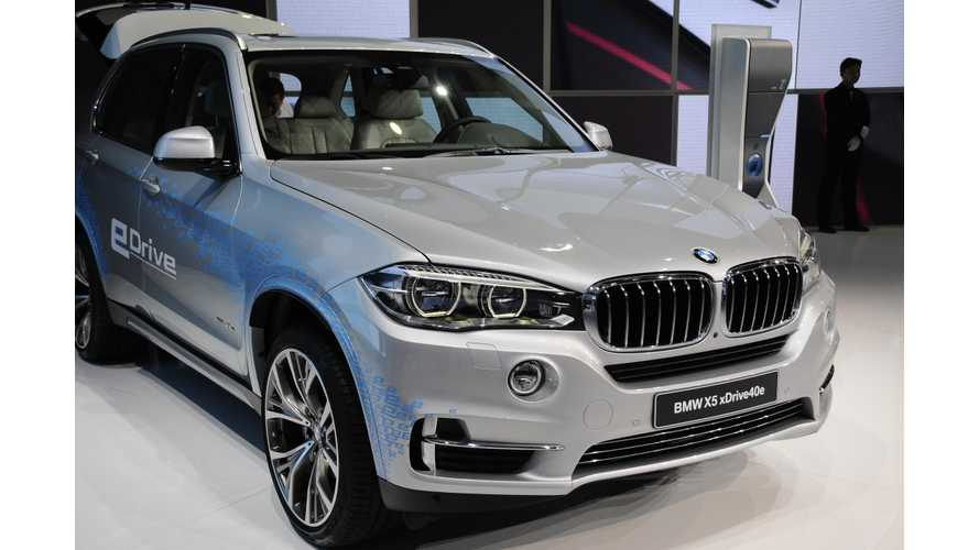 BMW Starts Deliveries Of X5 xDrive40e To US, Configurator Now Live (Update)