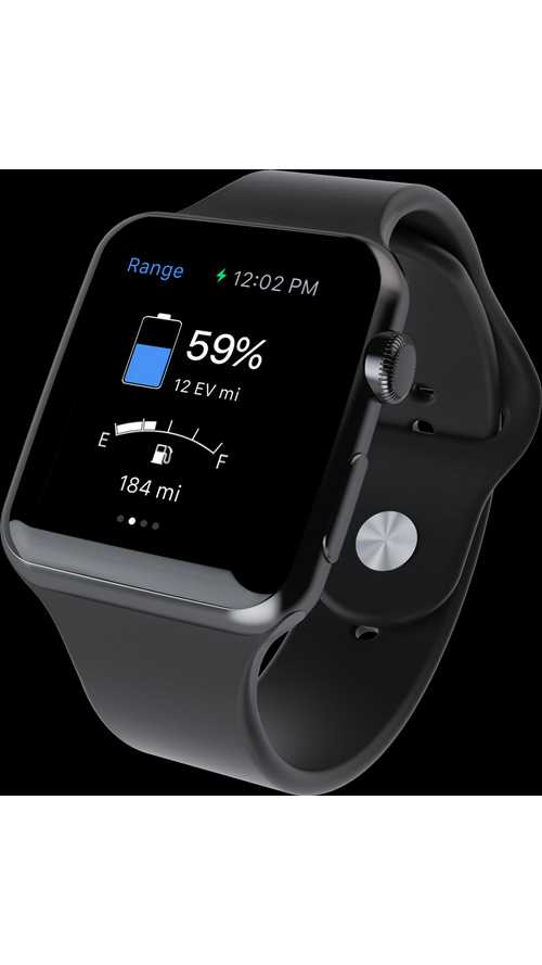MyFord Mobile App for Apple Watch Range
