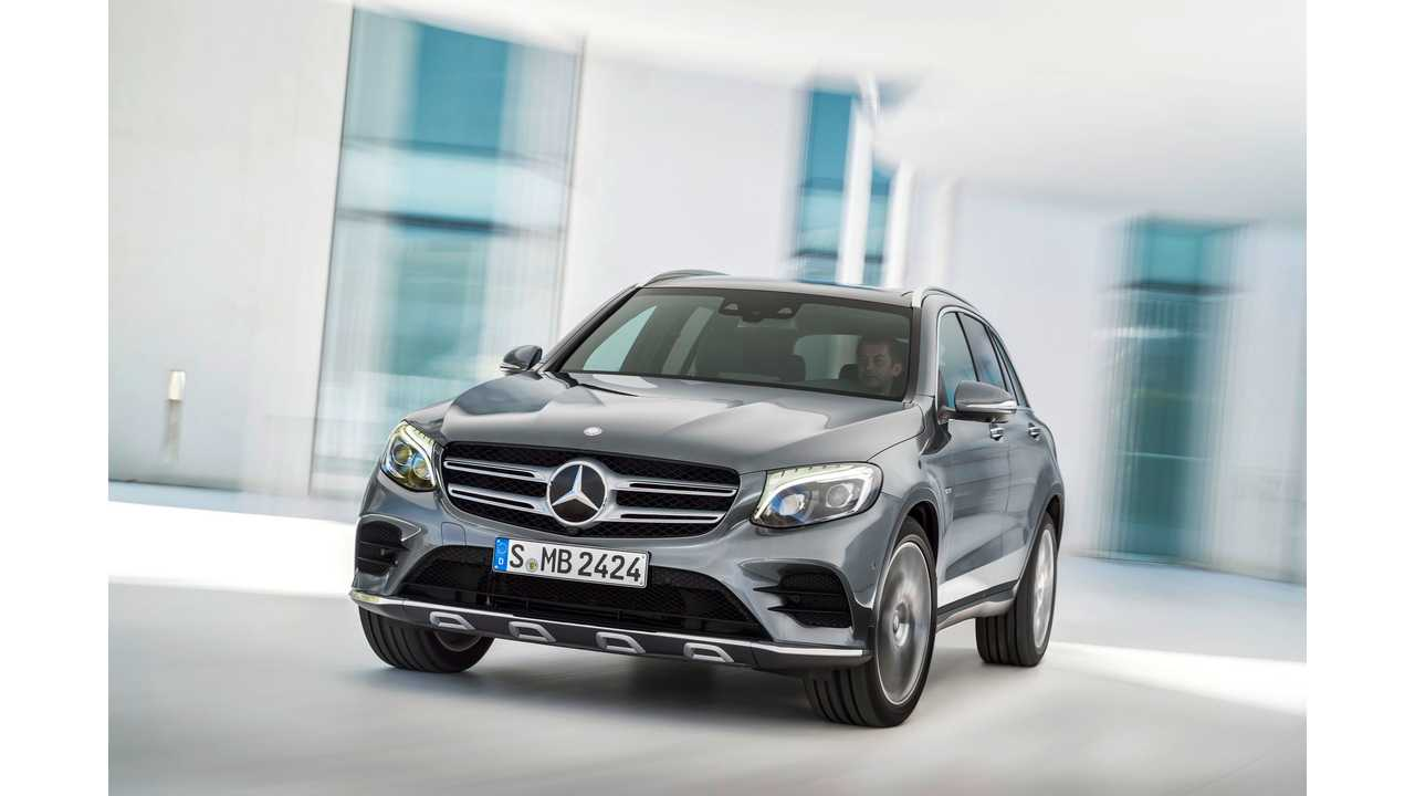 Mercedes Benz Glc 350 E 4matic
