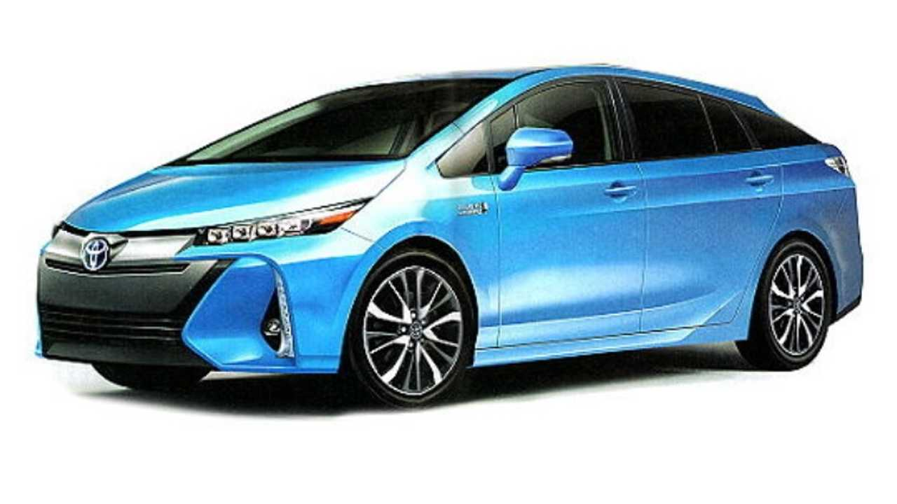 2nd Generation Toyota Prius PHV Won't Make An Impact Until 2017 (2nd Gen Sketch Leaked via Mobile.Autonet)