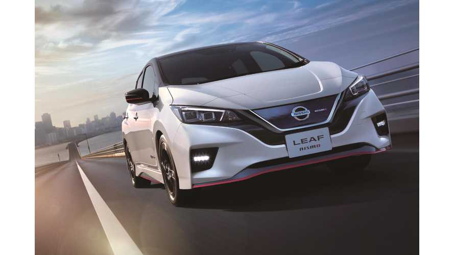 Nissan Confirms LEAF NISMO: On Sale End Of This Month