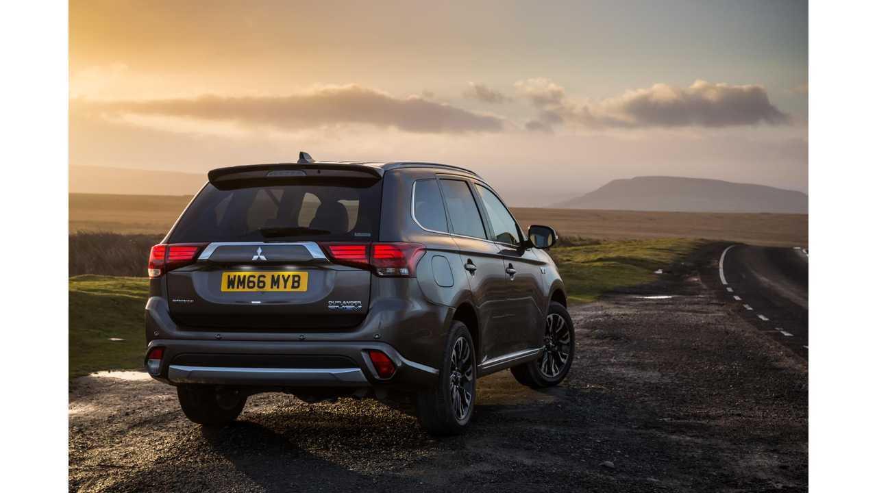 2017 Mitsubishi Outlander PHEV Gets Performance Upgrade, Slightly