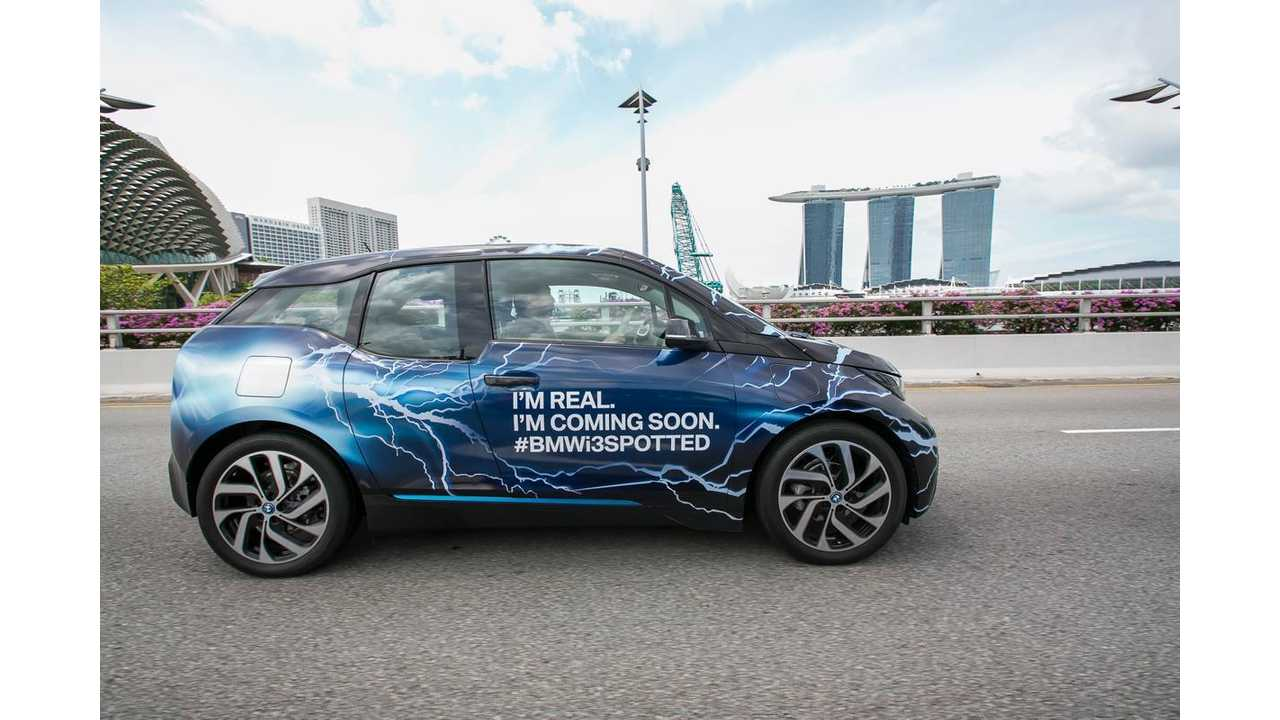 Up To 50% Of Automobiles On Roads In Singapore Will Be Electric By 2050