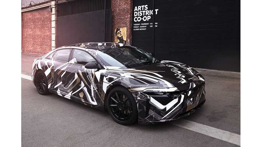 More Details On Lucid Motors EV: 100 kWh Battery, Optional 130 kWh With 400 Miles Range