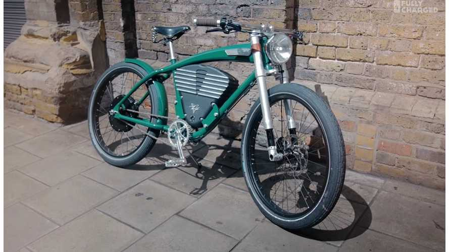 Fully Charged Tests Electric Bikes In London - video