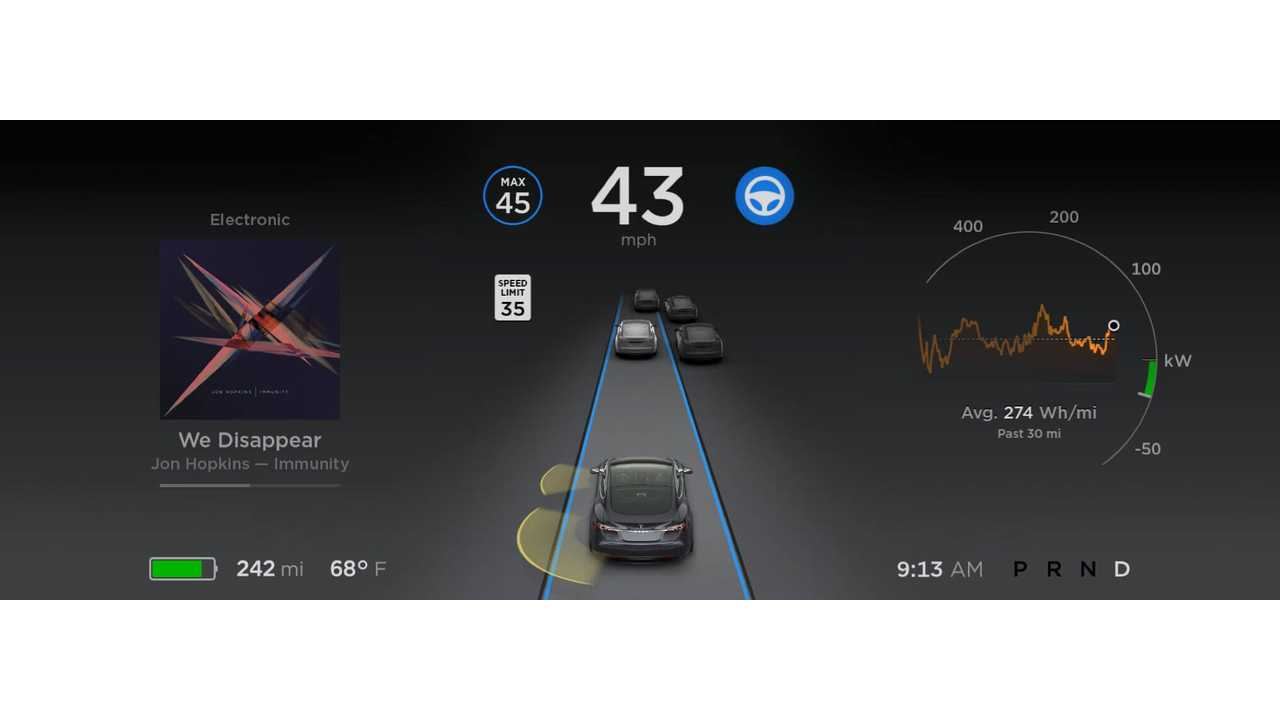 Elon Musk: Enhanced Autopilot To Be Released In 3 Weeks, Incremental Monthly Releases Beyond That