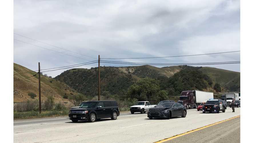 Tesla Model S Driver Blames Autopilot