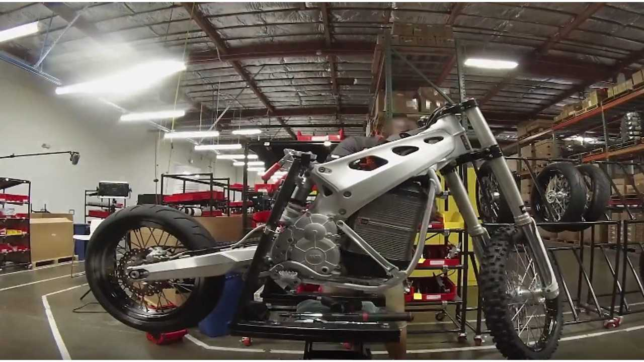 Alta Motors Redshift MX Factory Tour And Test Drive - Videos