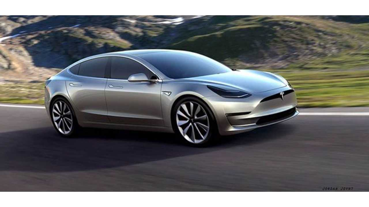 Model 3 With Tweaked Front Fascia - <a href=