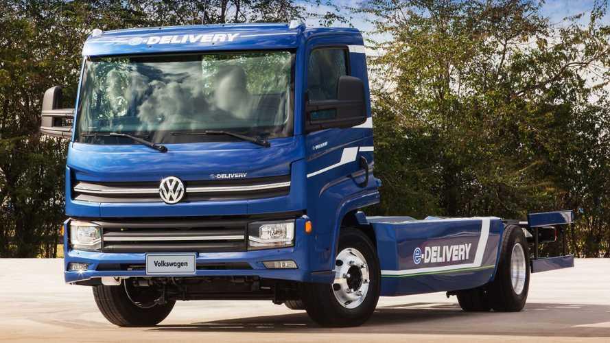 Volkswagen Caminhões e Ônibus Launches New Electric Truck