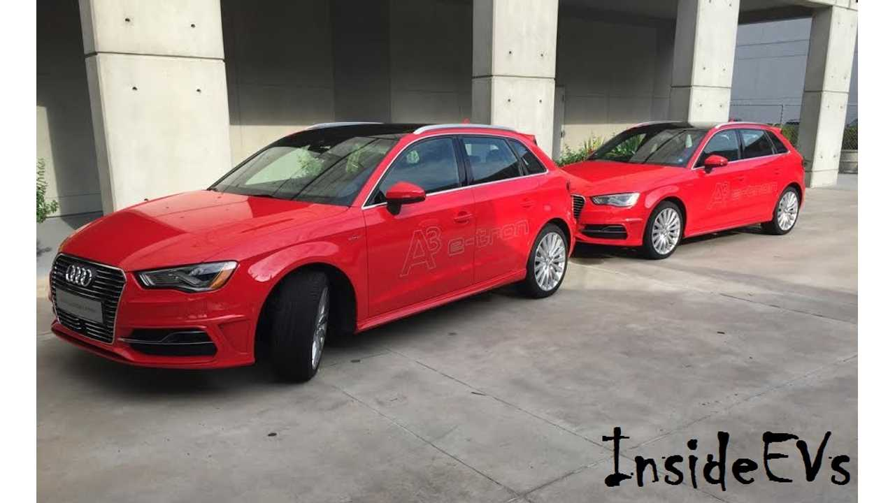 Audi A3 e-tron Launch In U.S. Is Vitally Important For Automaker's Electric Future