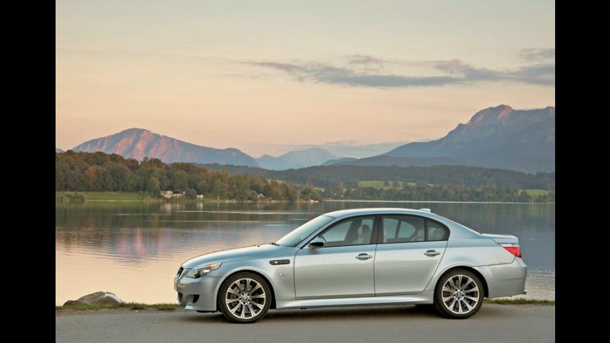 BMW M5 con cambio manuale per il 2007?