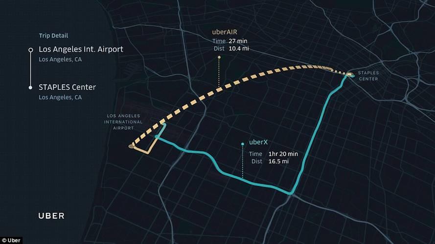 Video Uber S Associe A La Nasa Pour Lancer Des Taxis Volants