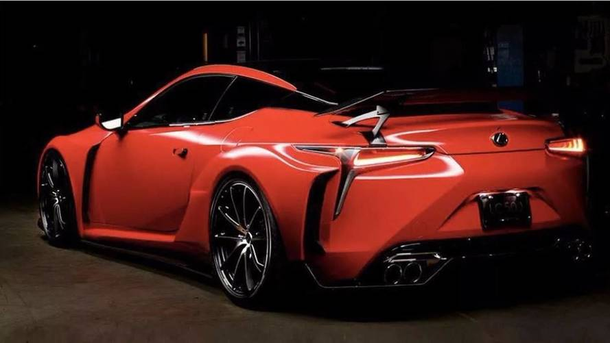 Lexus LC 500 Supreme Satin Carmin Red