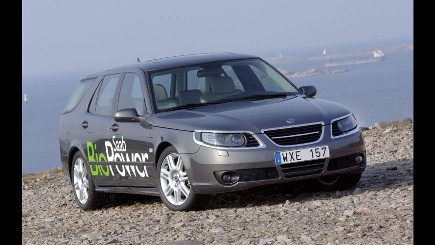 Più potenza per la Saab 9-5 BioPower