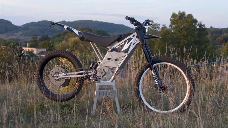 Meet the LMX-161-H - An Electric Bicycle/Dirt Bike Hybrid