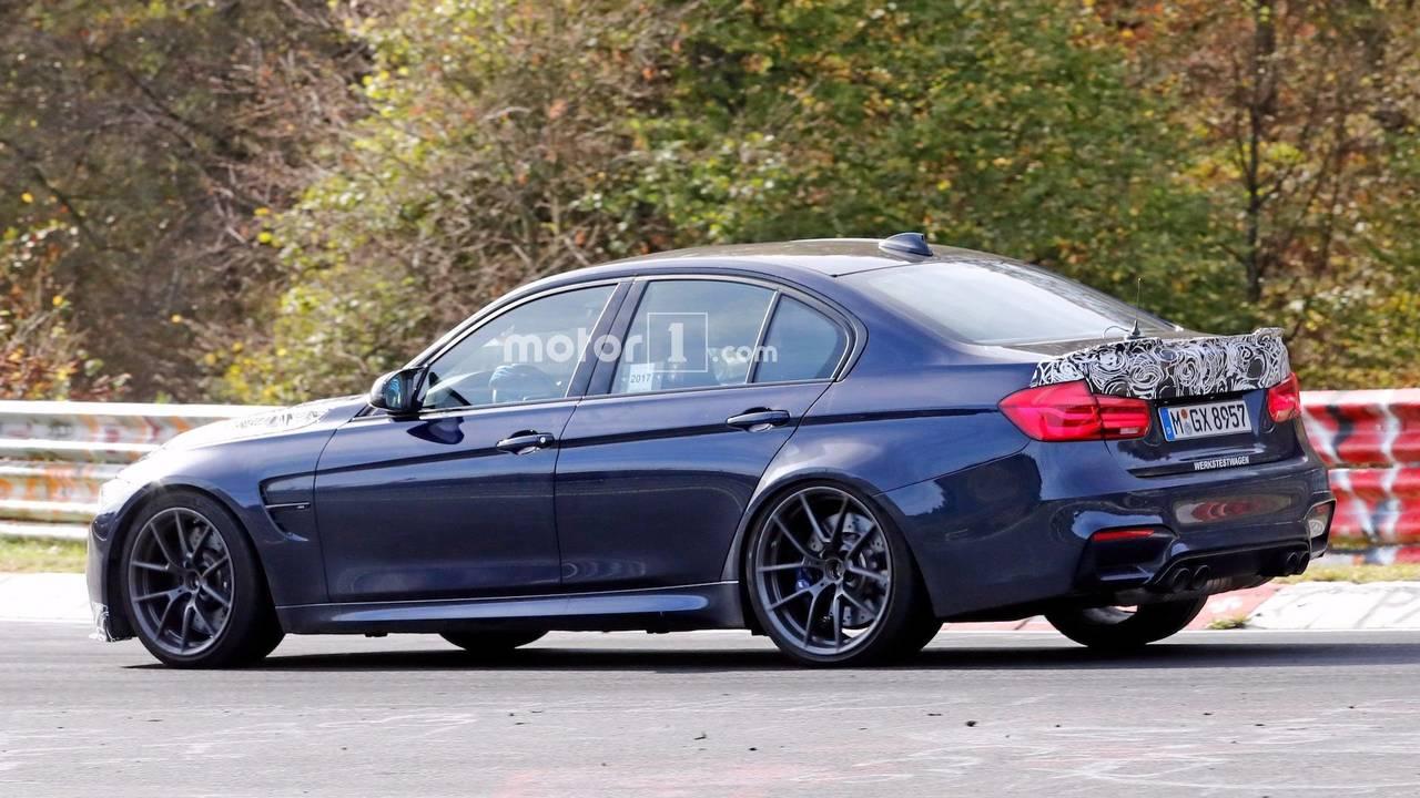 BMW M3 CS Nurburgring Spy Photos
