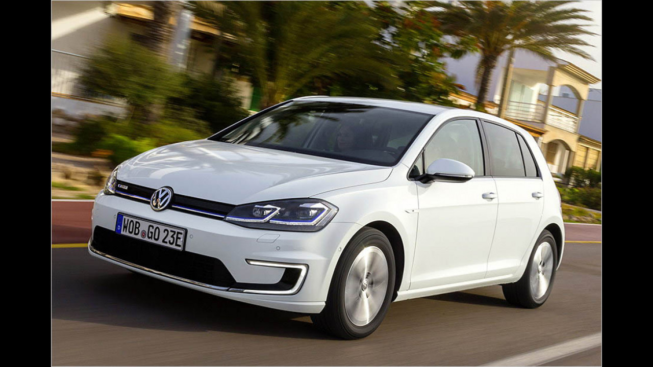 VW e-Golf: 300 km