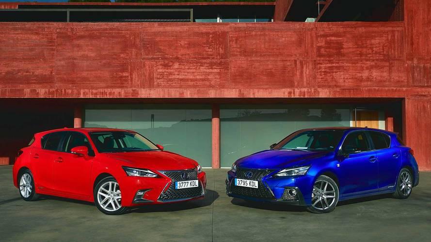 Lexus dejará de ofrecer en Europa tres de sus modelos: CT, IS y RC