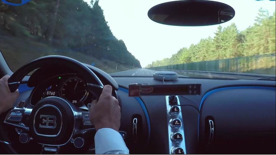 VIDÉO – Le 0 à 300 km/h à bord de la Bugatti Chiron