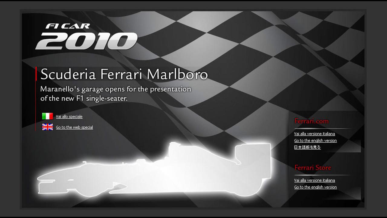 Ferrari F10: la presentazione live da Maranello