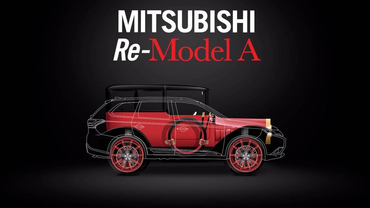Mitsubishi Model A PHEV