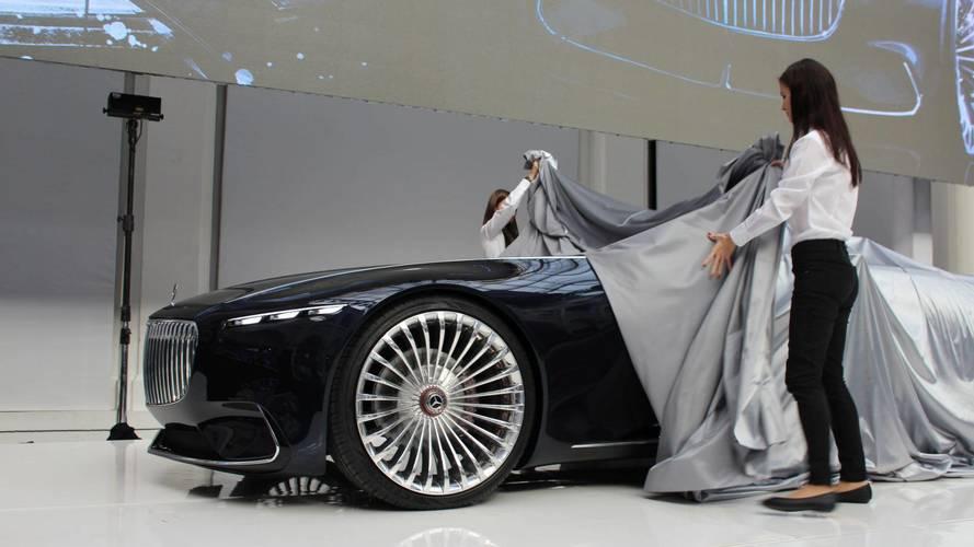 Magyarországon járt a Vision Mercedes-Maybach 6 Cabriolet