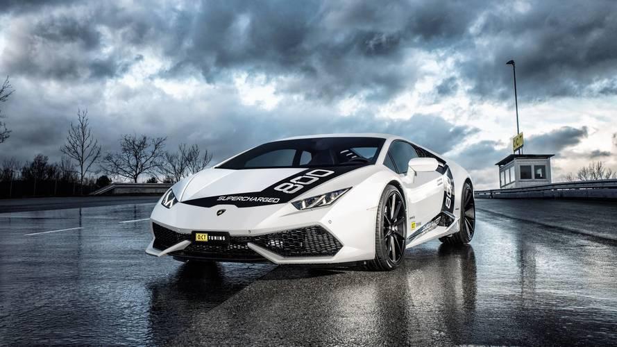 794 bg'lik süperşarjlı Lamborghini Huracan