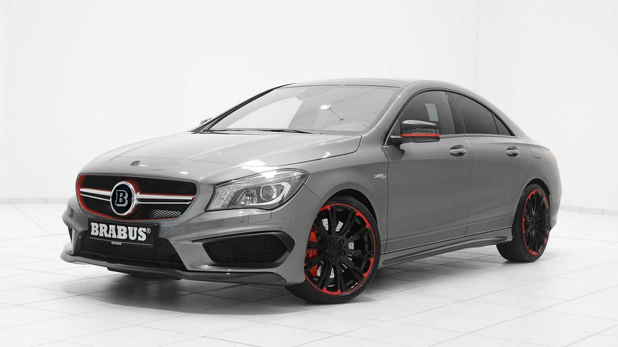 Brabus upgrades Mercedes-Benz CLA 45 AMG