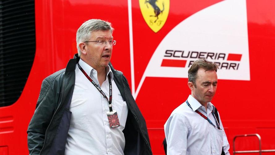 Brawn denies talks over Ferrari return