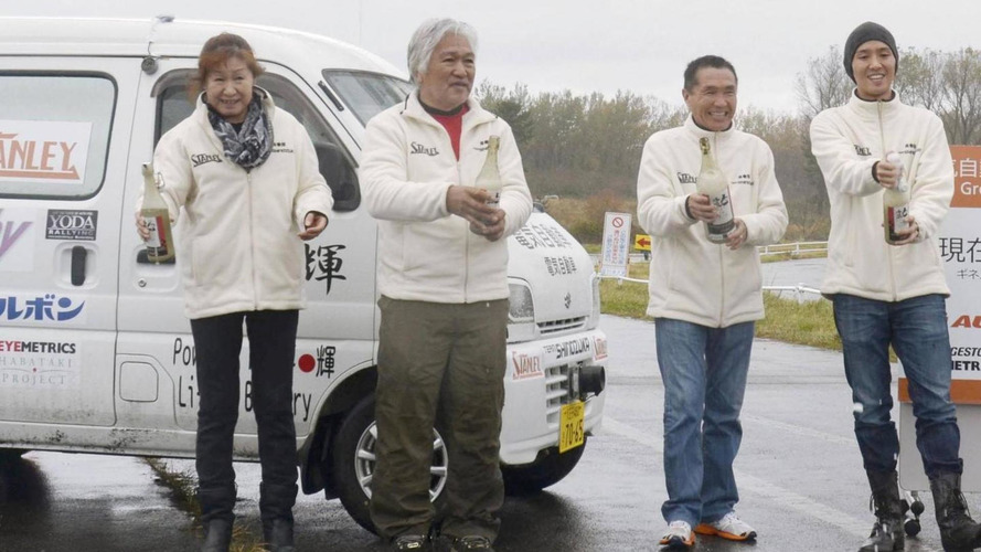 Suzuki Every EV did 1,300 km on a single charge, established new world record