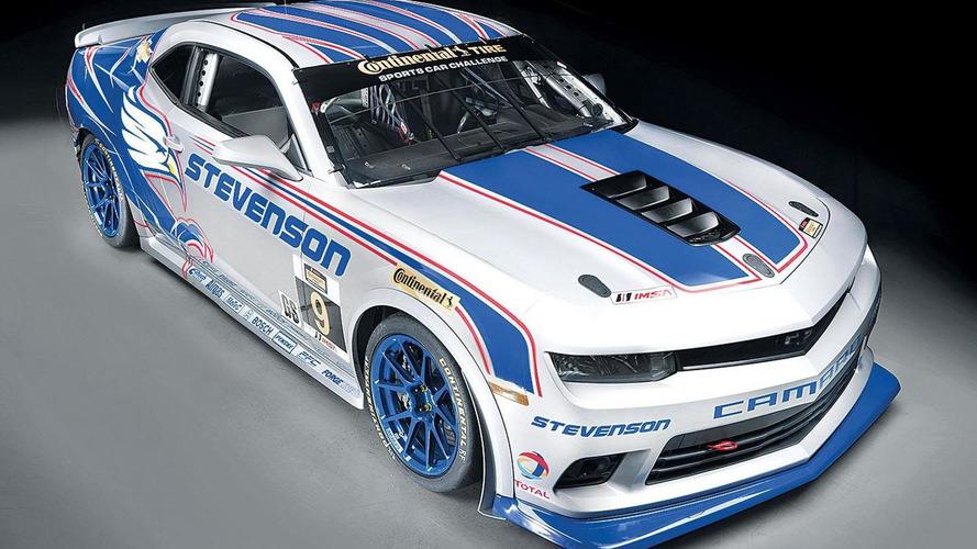 Chevrolet Camaro Z/28.R revealed for the IMSA Continental Tires SportsCar Challenge