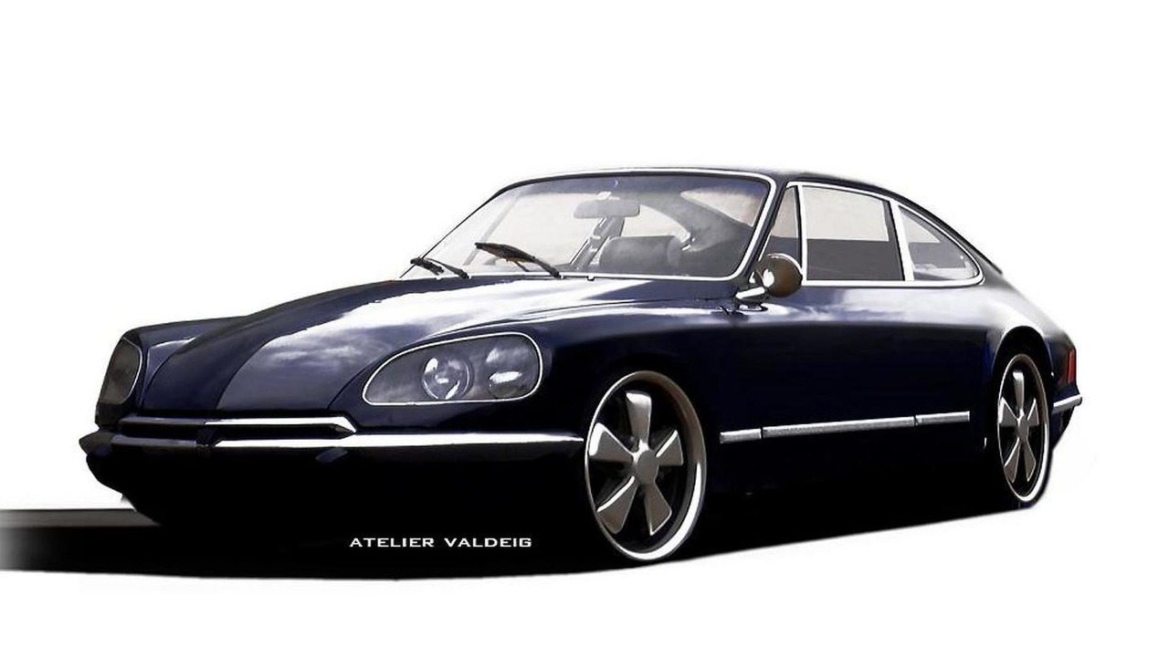 Porsche Citroen 911 DS render 08.11.2013