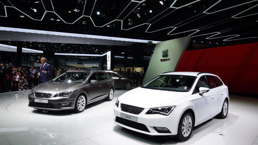 Seat Leon Ecomotive and TGI debut in Frankfurt
