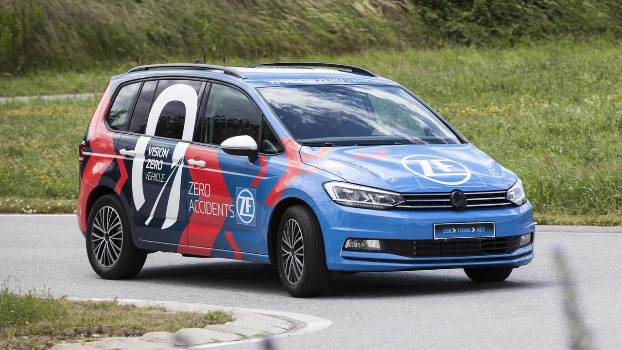 ZF Vision Zero Vehicle VW Touran