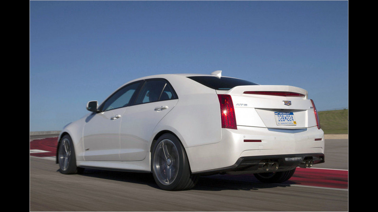 Platz 8: Cadillac ATS-V