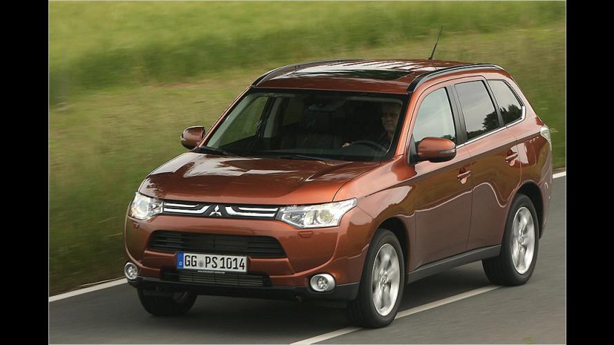 Der neue Mitsubishi Outlander (2012) im Test
