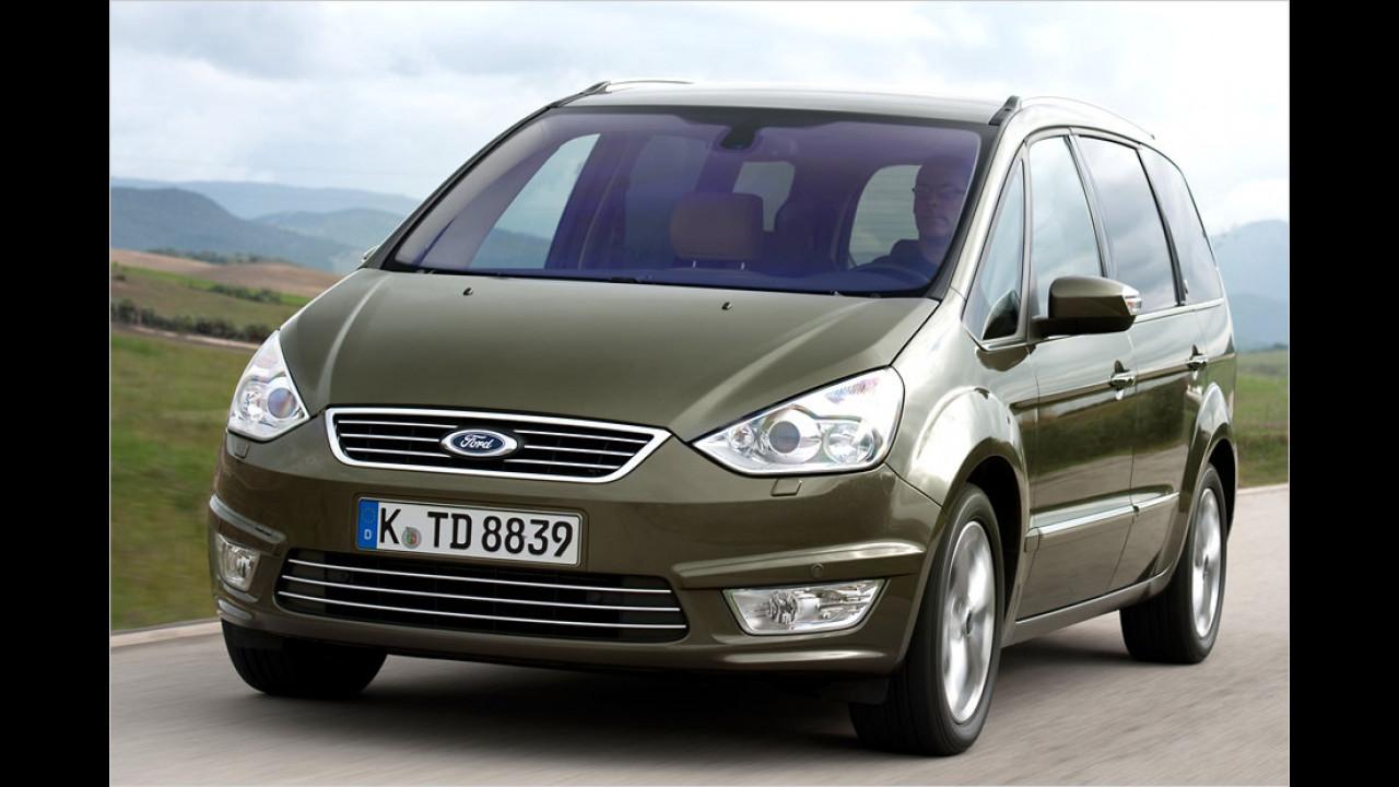 Ford Galaxy 2.0 TCDi: + 38,6 Prozent