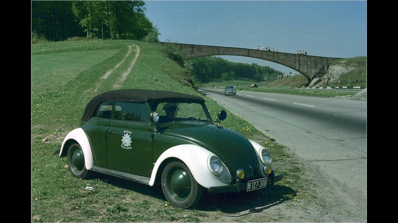 VW Käfer Polizei (ca. 1955)