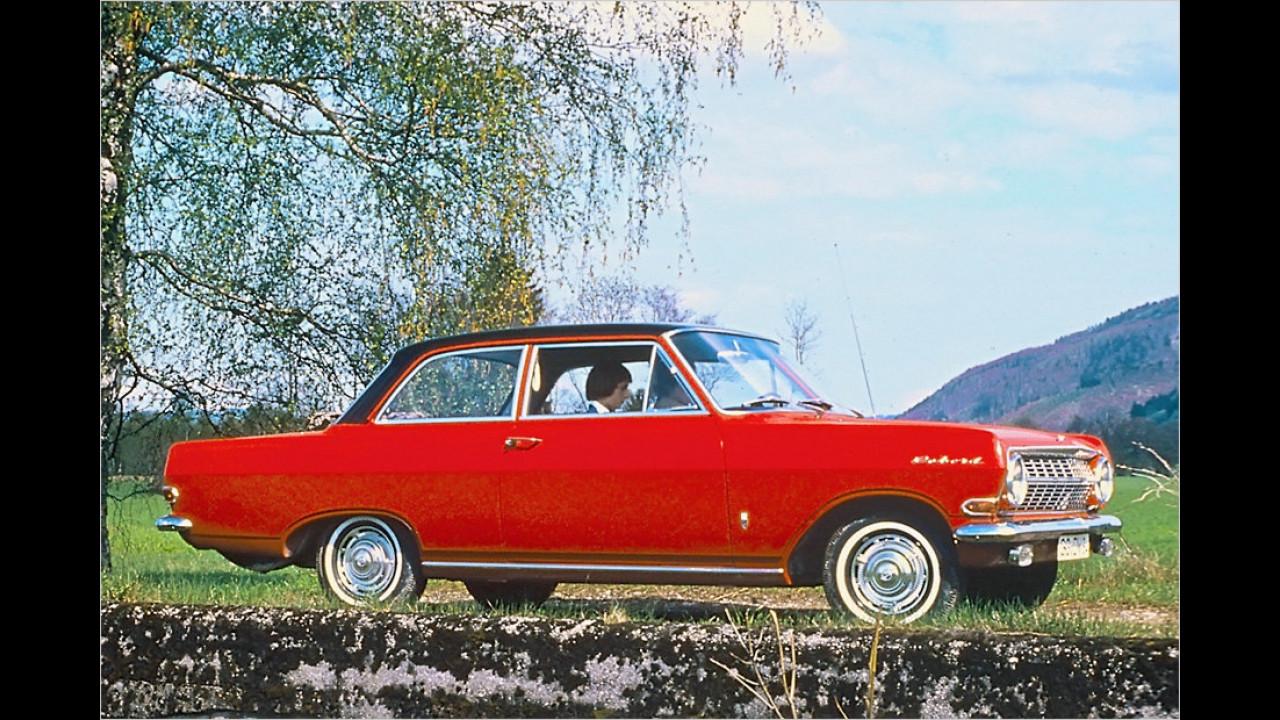 Platz 14: Opel Rekord/Olympia, 3.277 Fahrzeuge mit H-Kennzeichen