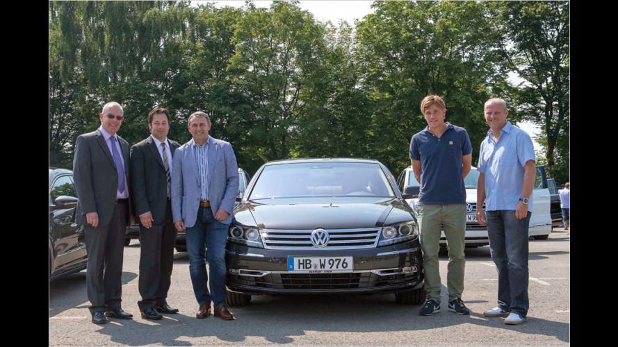 Neue VWs für Werder Bremen