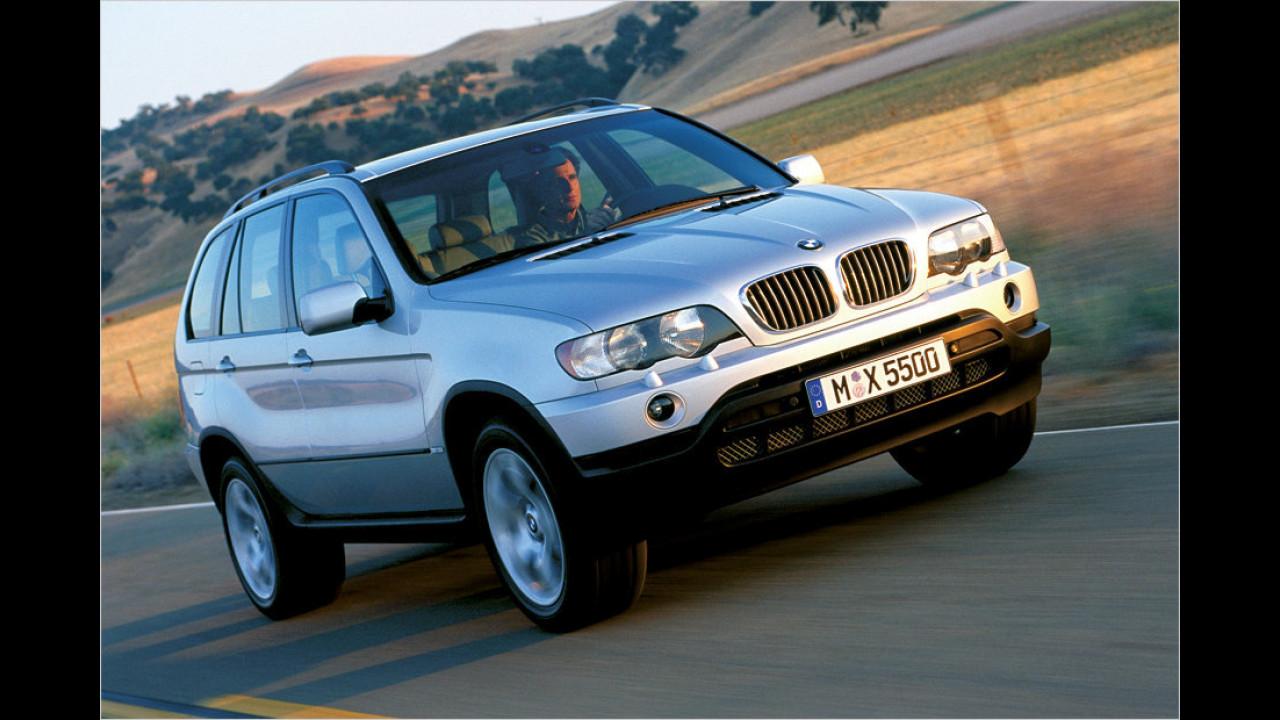 10. Januar 1999: Der erste X5