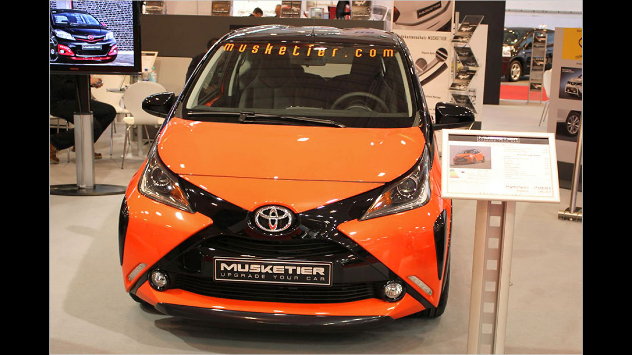 Musketier Toyota Aygo