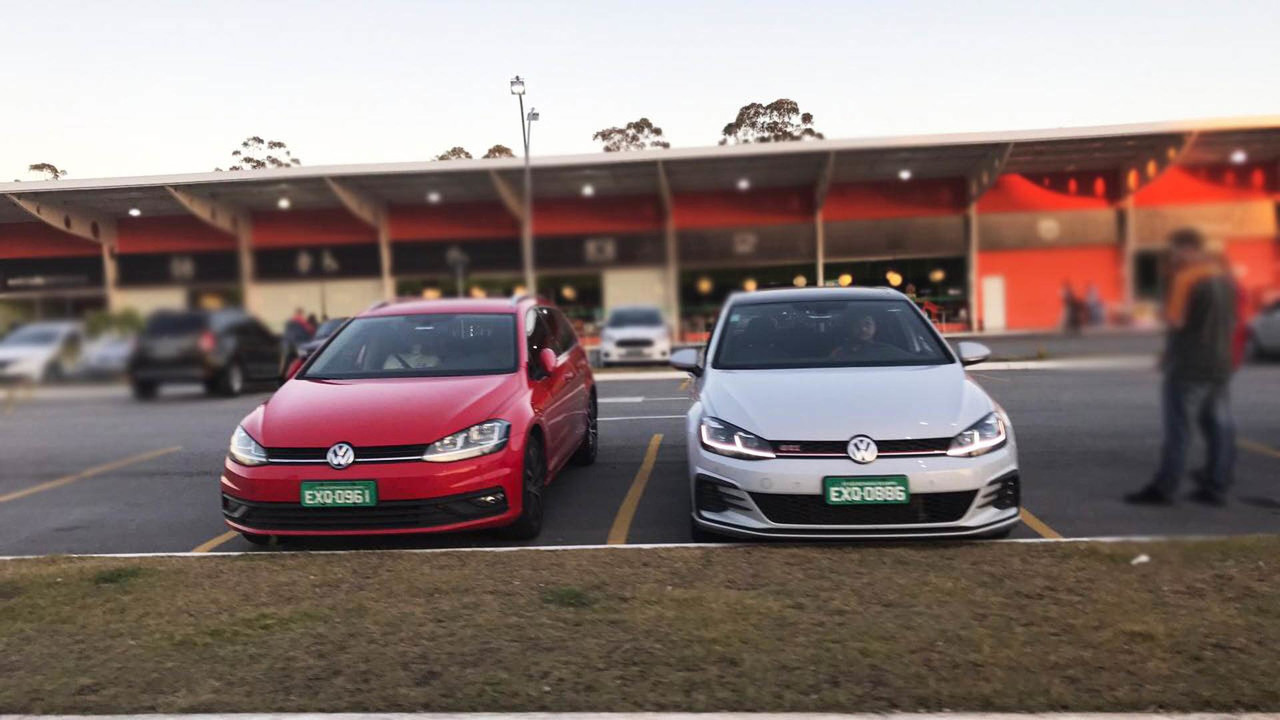 Flagra linha VW Golf 2018