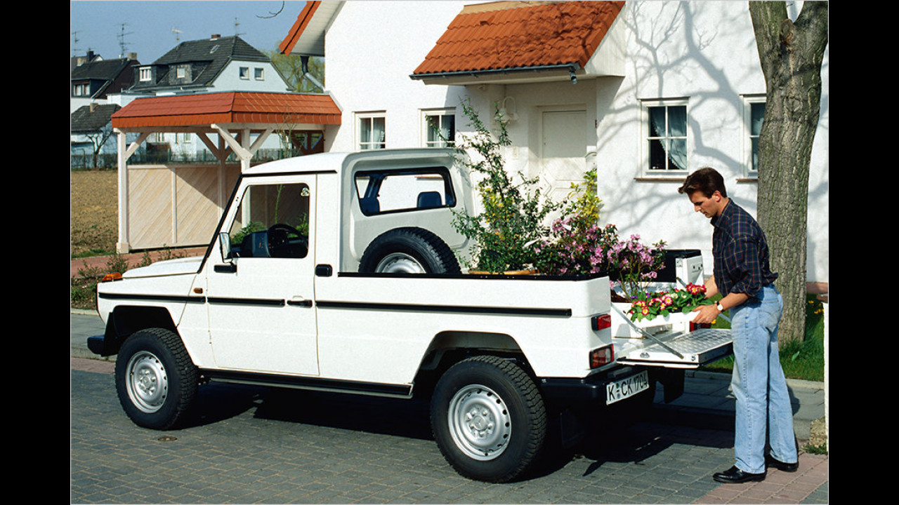 35 Jahre G-Klasse: Pick-up