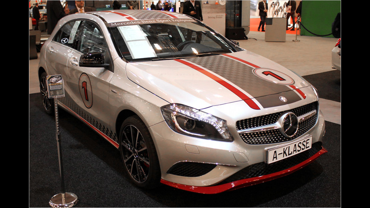 Mercedes A-Klasse mit Mercedes Sport Equipment