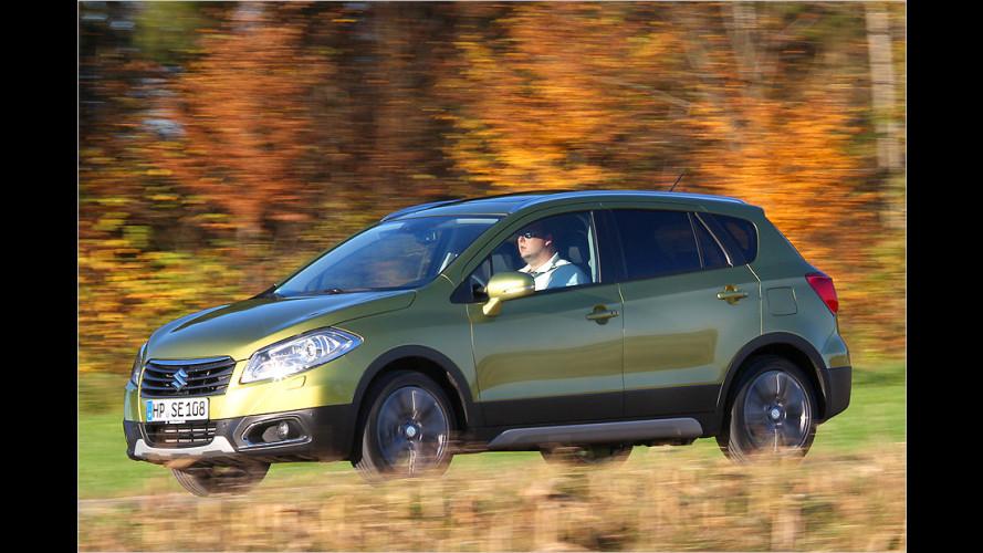 Suzuki SX4 S-Cross 1.6 DDiS 4x4 (2013) mit 120-PS-Diesel im Test