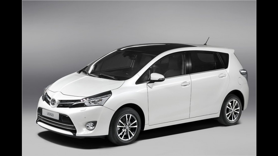 Kompaktvan Toyota Verso bekommt Verjüngungskur